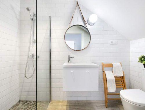 Kleine badkamer door Egue Y Seta.