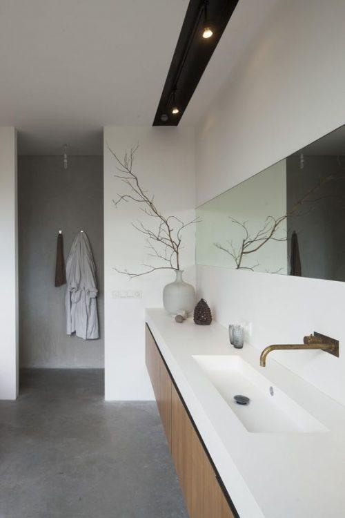 Badkamers voorbeelden » 10x Badkamer met spotjes