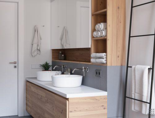 Underlayment In Badkamer : Stoere badkamer van easterbrook house badkamers voorbeelden