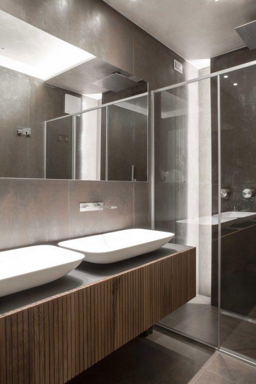 De 5 badkamers van een Italiaanse woning - Badkamers voorbeelden