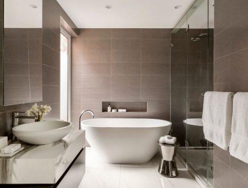 Luxe badkamers ontwerpen door LSA Architects & Interior Design
