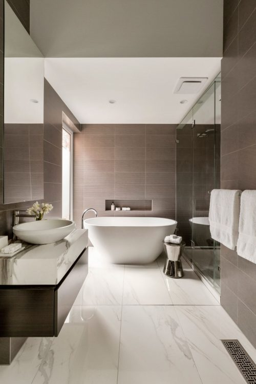 badkamers voorbeelden » luxe badkamer ontwerp door at26, Badkamer