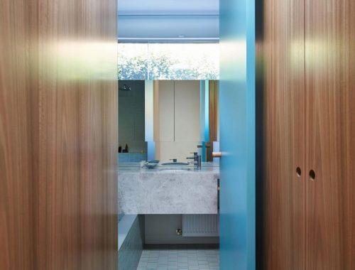 Moderne badkamer door FMD Architects