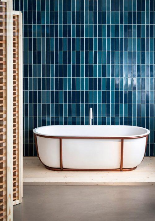 Bad ontwerp door ontwerpster patricia urquiola badkamers voorbeelden for Ontwerp bad
