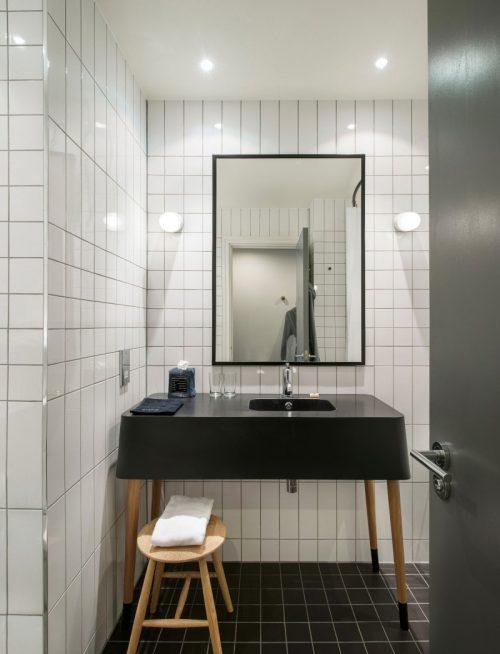 Badkamers van Ace Hotel Londen