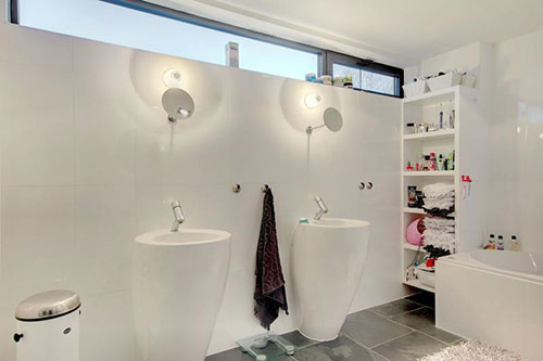 Brede Luxaflex Badkamer ~ Badkamers voorbeelden ? Badkamer met design sanitair