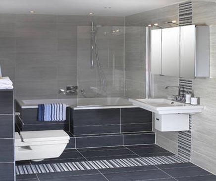 Luxe badkamer Dream van Wooning - Badkamers voorbeelden