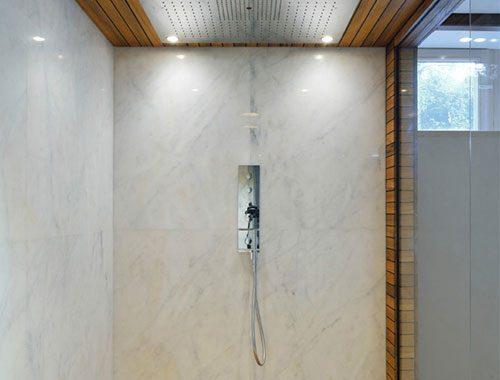 Badkamer Hout Natuursteen : Natuursteen hout keramiek