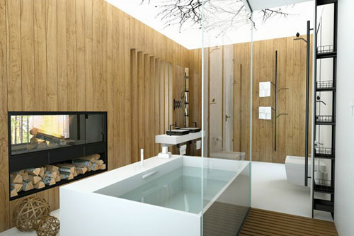Luxe Badkamer Ideeen : Badkamers voorbeelden » Badkamer ideeën met ...