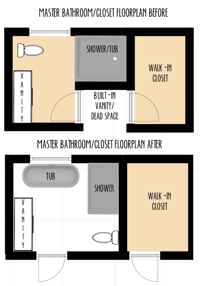 badkamer indeling plattegrond