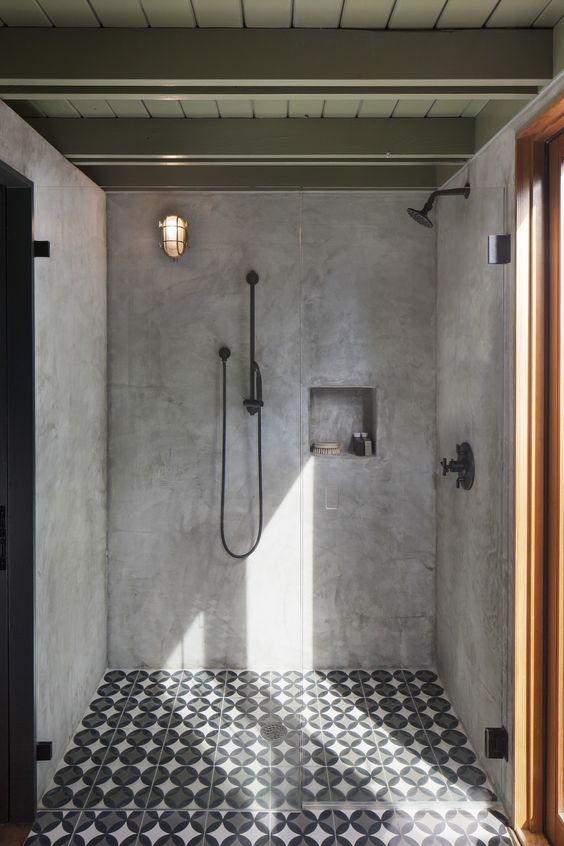 Badkamer industriële lamp