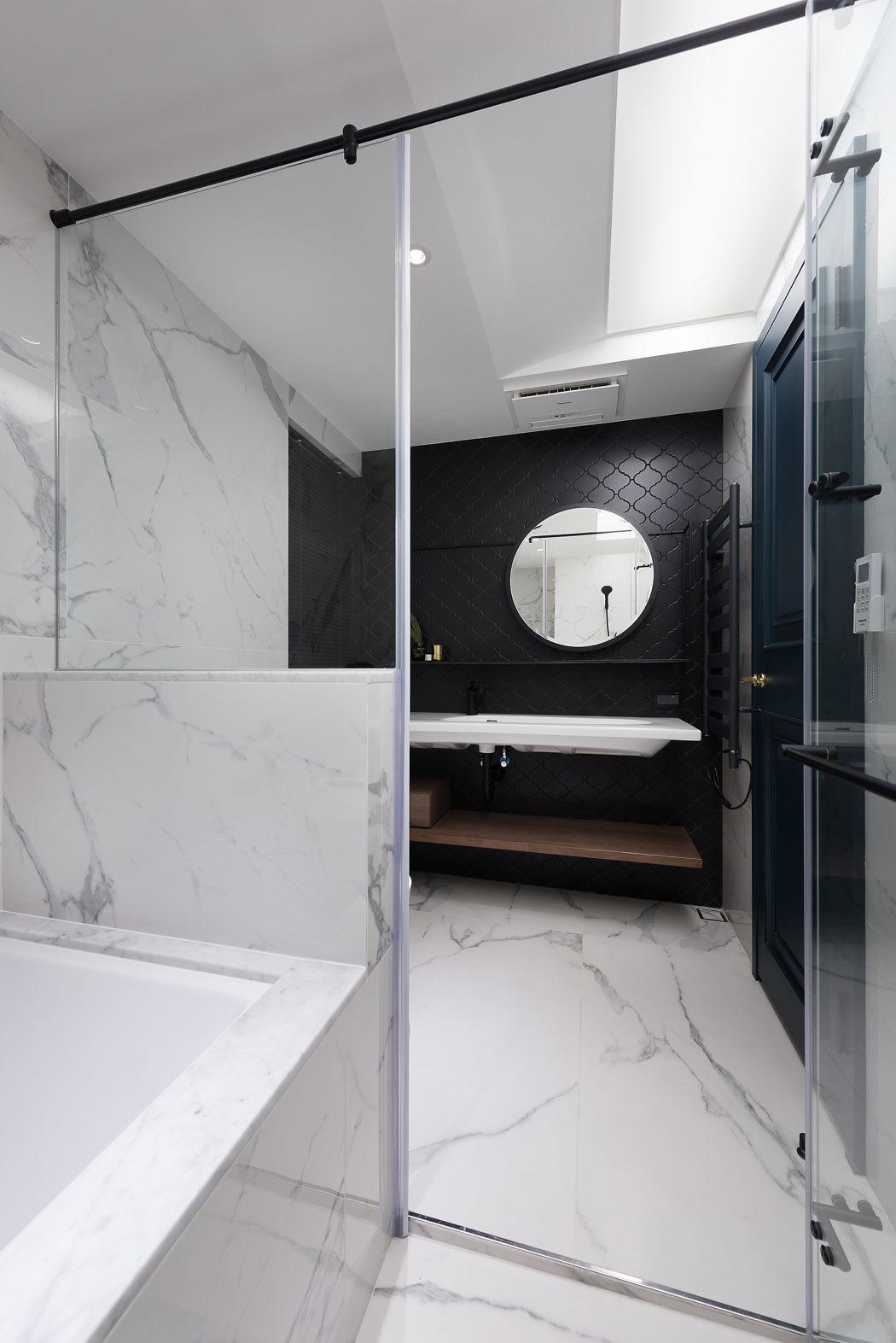 badkamer inrichting tip natte droge zones