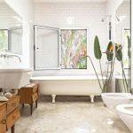 Badkamer inspiratie van een kunstenares
