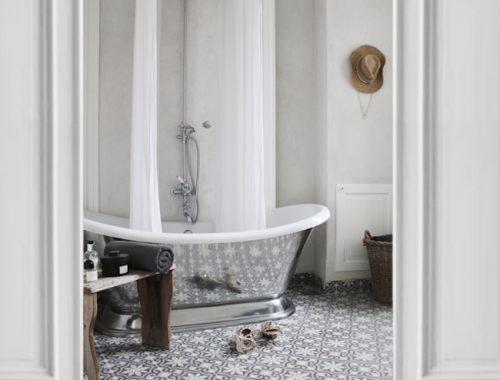 Mooie badkamer van interieur ontwerpster Annika Von Hold