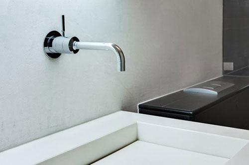Favoriete Badkamer kraan uit de muur - Badkamers voorbeelden XJ18