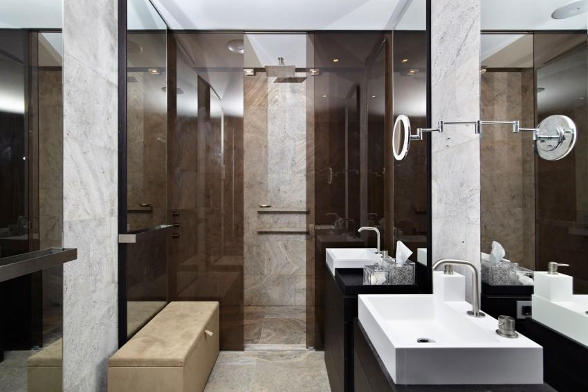 Luxe Badkamer Amsterdam : Badkamer luxe penthouse in amsterdam badkamers voorbeelden