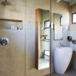 Badkamer van mooie loft in Milaan