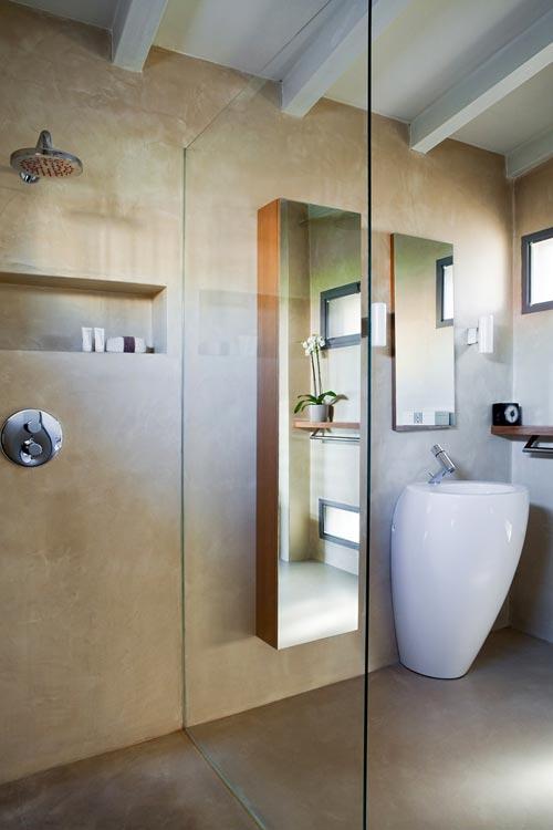 Badkamer van mooie loft in milaan badkamers voorbeelden - Mooie badkamers ...