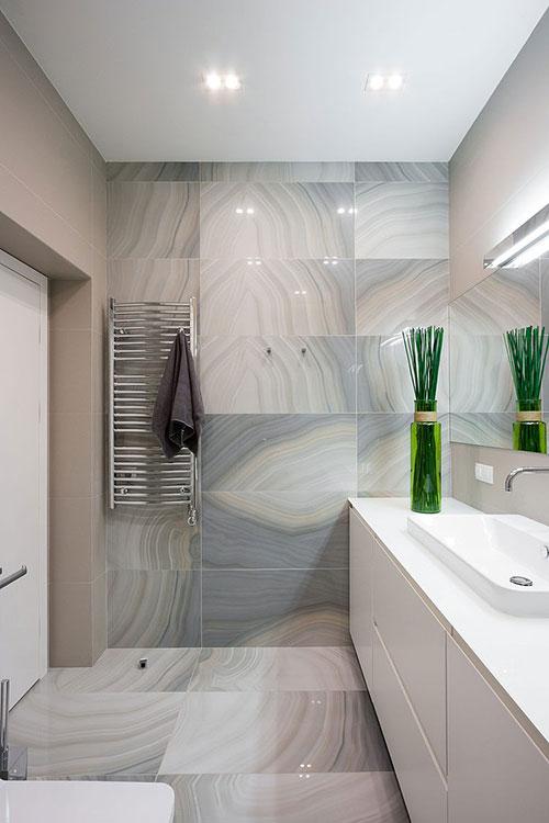 Badkamer Marmer Tegels.Badkamer Met Mooie Marmeren Tegels Badkamers Voorbeelden