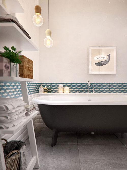 Badkamer met Noors ontwerp
