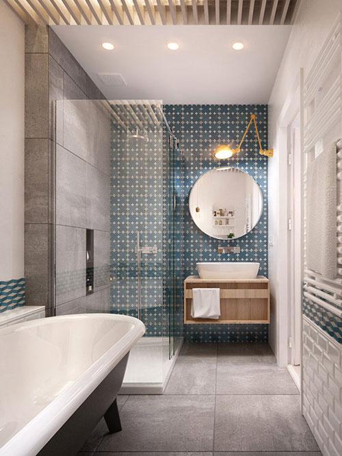 Badkamer met Noors ontwerp - Badkamers voorbeelden