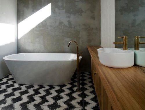 Badkamer ontwerp door Auhaus architecture