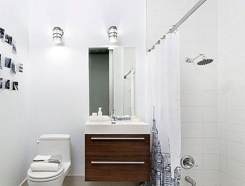 Badkamer ontwerp met bad in de vloer
