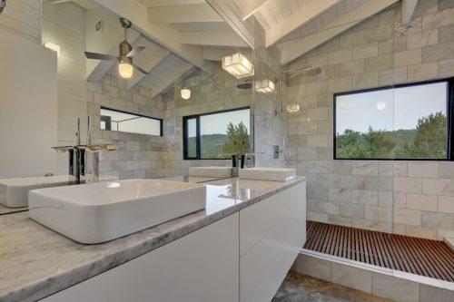 Badkamer ontwerp van een Mexicaans Hacienda woning