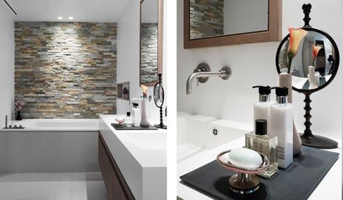 Badkamer ontwerp met strakke afwerking