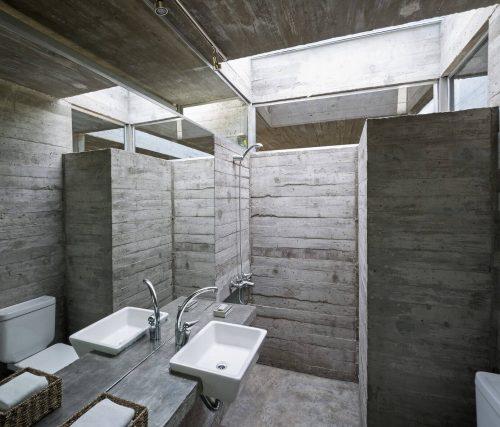 Badkamer Ideeen Beton: Voorbeelden van beton look in de badkamer door ...