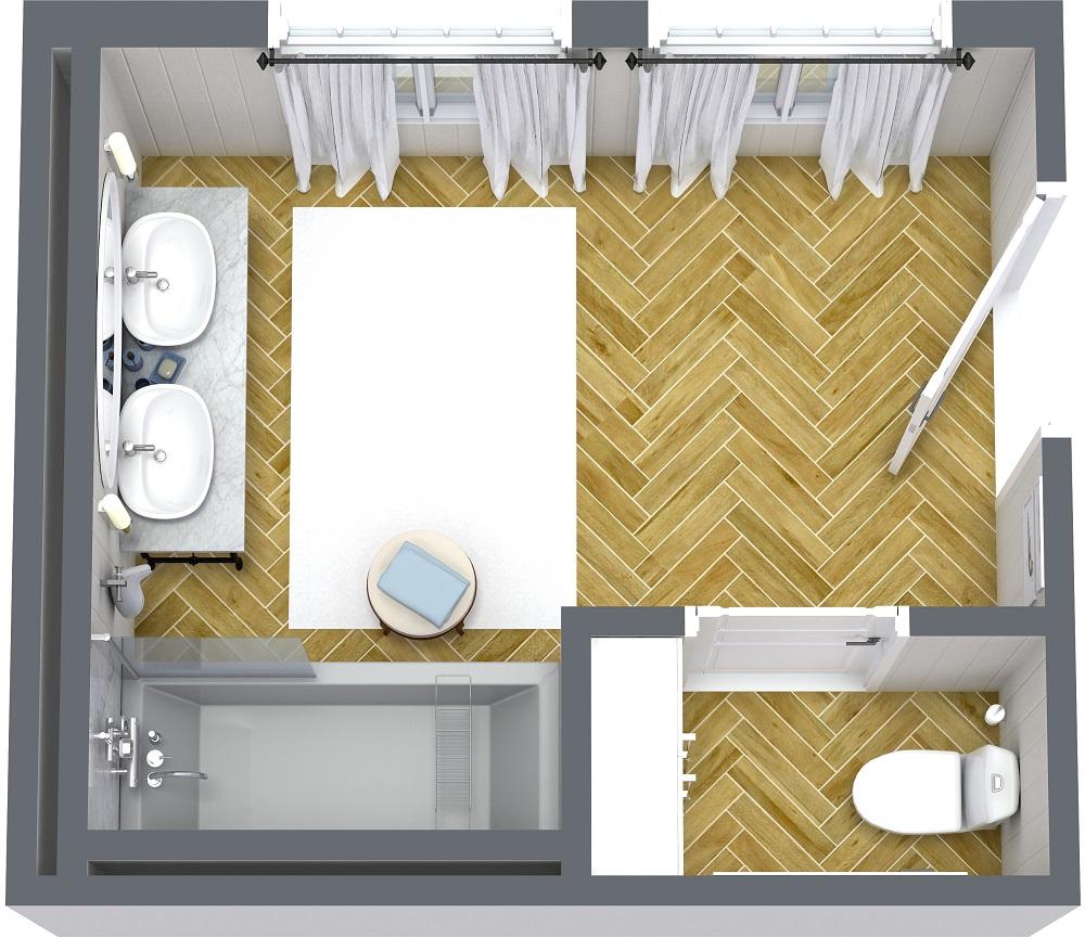 badkamer ontwerpen roomsketcher inrichten