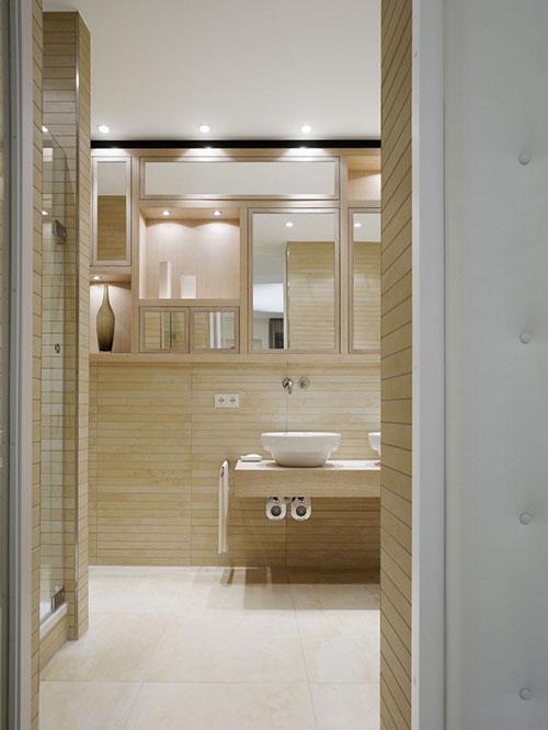 Badkamer sauna look - Badkamers voorbeelden