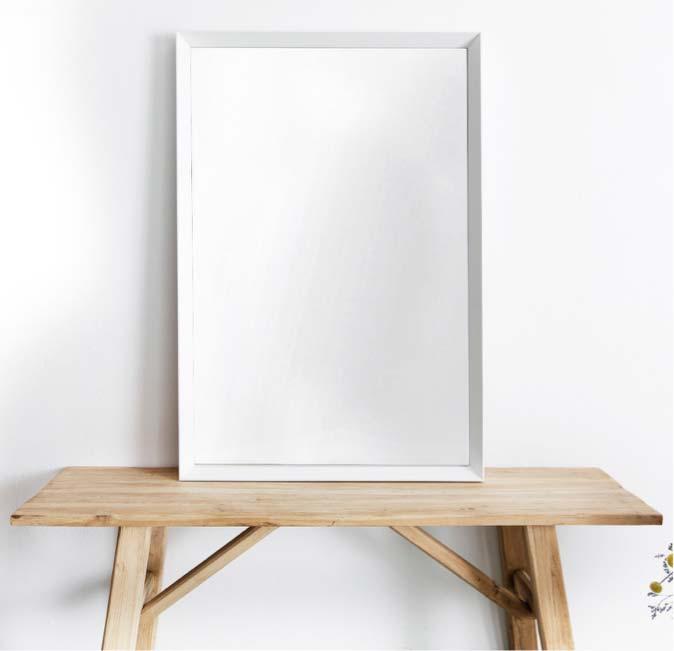 badkamer spiegel wit