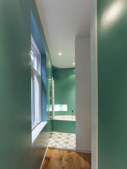 20170409&024805_Ideeen Badkamer Muren ~ Badkamers voorbeelden ? Badkamer met strakke groene muren