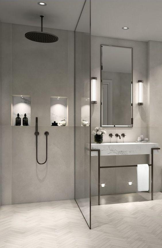 badkamer tip hoogte douche