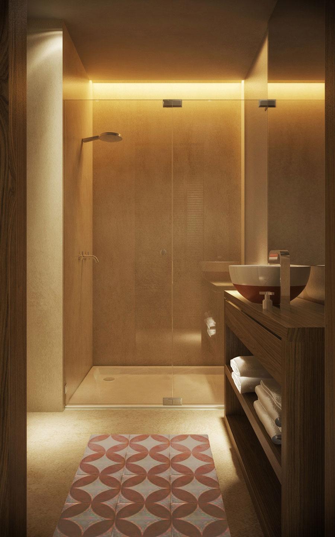 Badkamer van Airport hotel van Istanbul