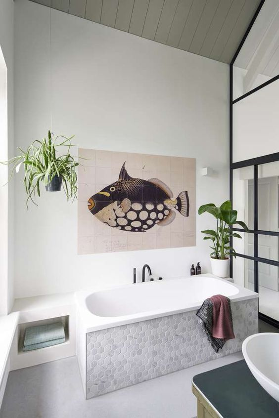 badkamer wanddecoratie ixxi
