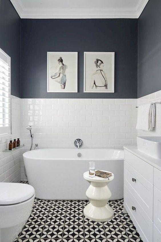 badkamer wanddecoratie