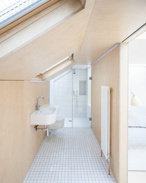 Badkamermeubel van multiplex