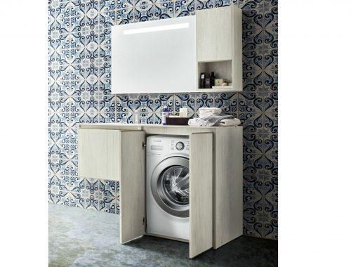 Badkamermeubelkast voor wasmachine
