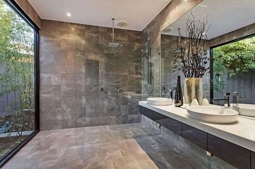 Badkamers in dezelfde style