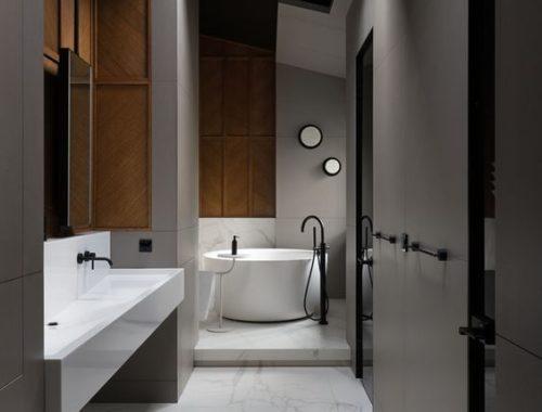 Badkamer Plafond Oplossingen : Zwart plafond archives badkamers voorbeelden