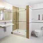 Minimalistische badkamer van Wooning