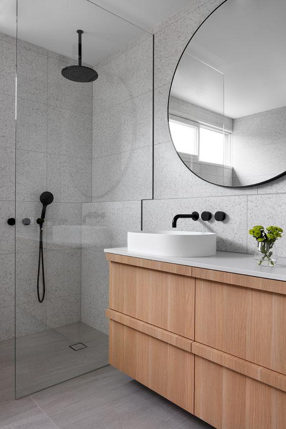 badkamertrends 2020 zwart sanitair