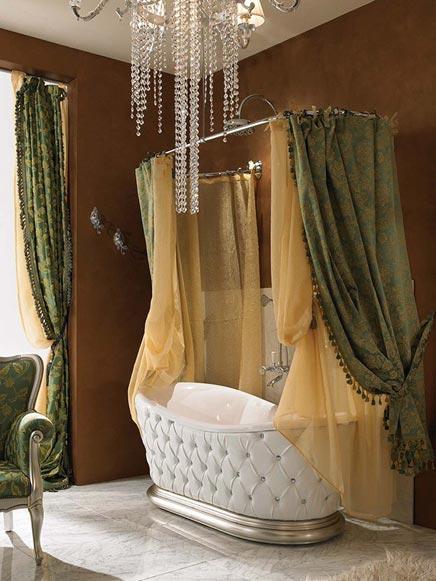 Barok badkamers voorbeelden