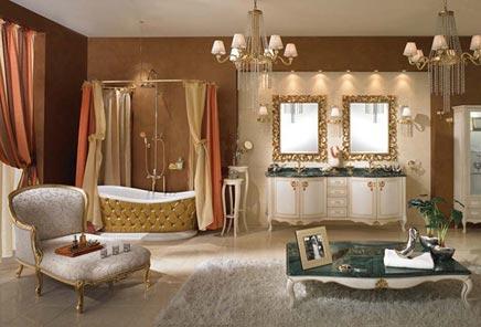 Mega barok badkamer - Badkamers voorbeelden