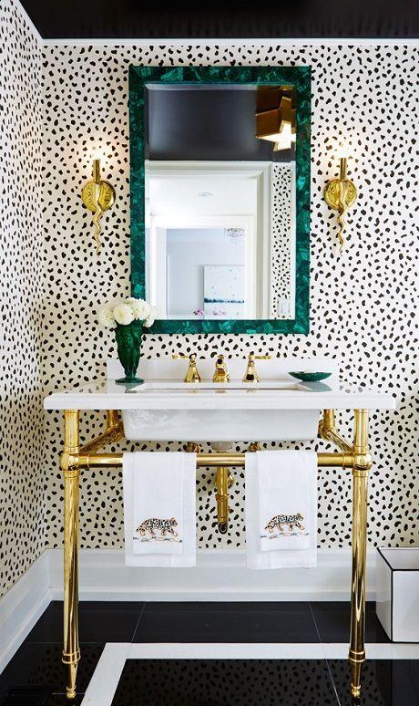 Badkamer Wastafel Hout ~ Badkamers voorbeelden » behang in badkamer