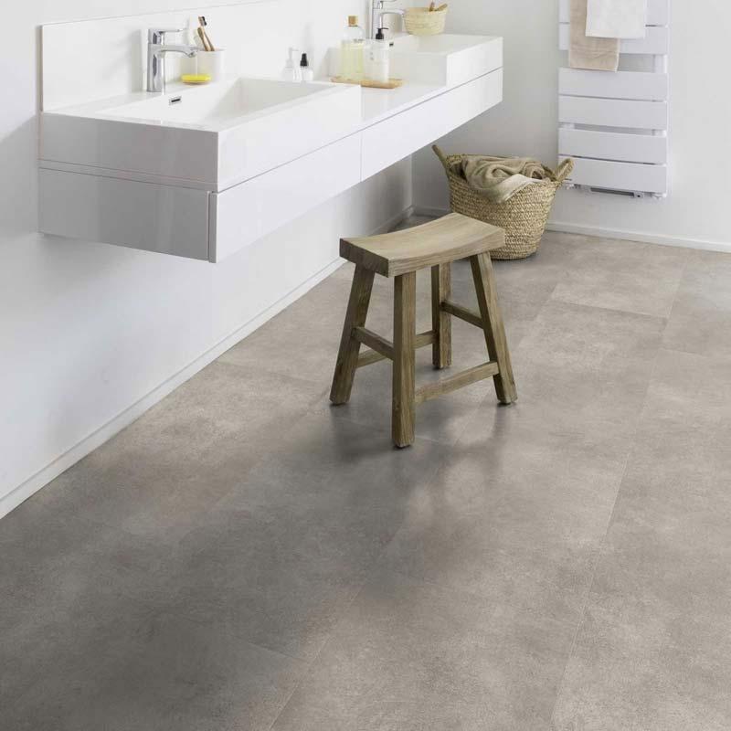 betonlook pvc tegels badkamer