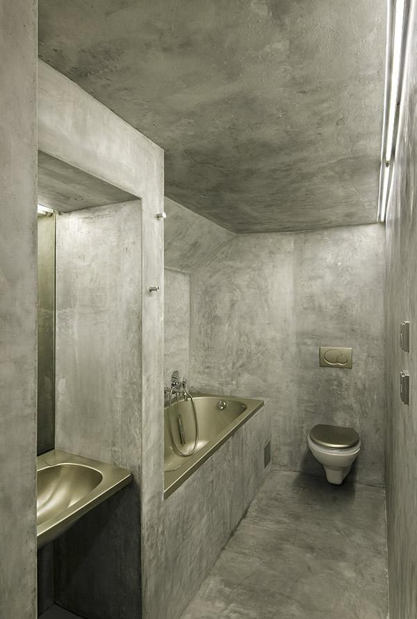 Betonnen badkamer - Badkamers voorbeelden