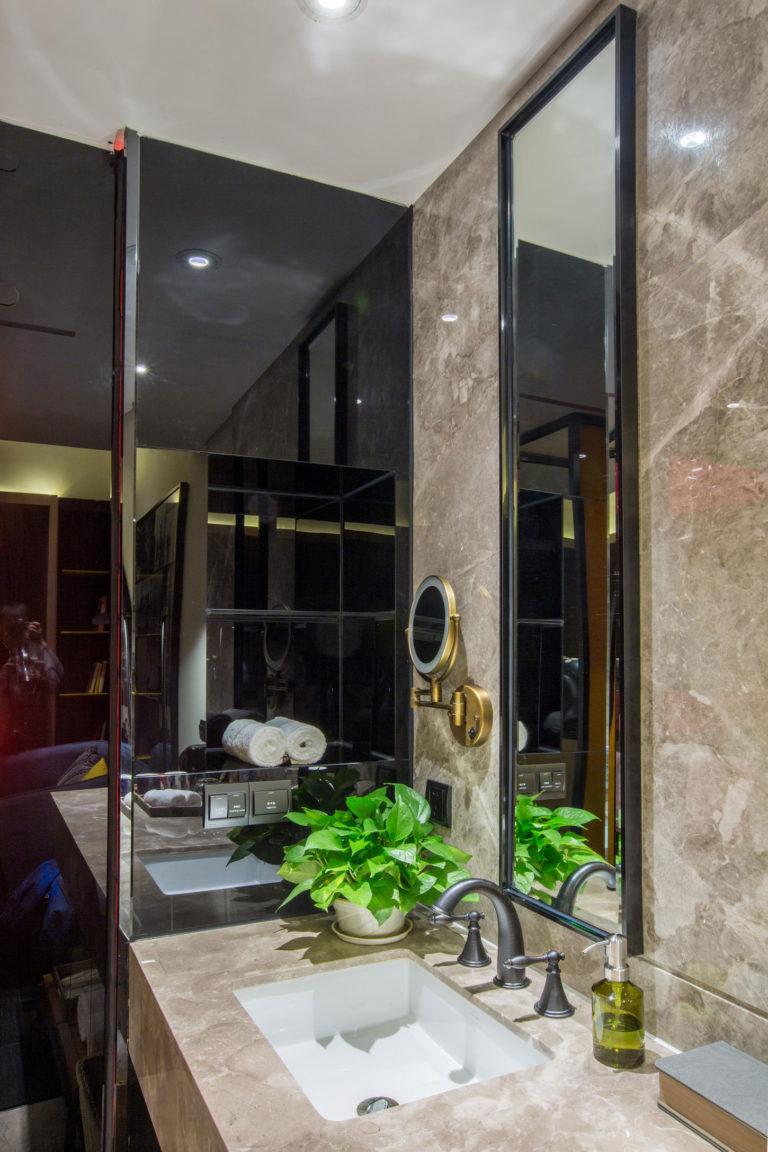 Bijzondere badkamer van Wonderful Hotel in Taipei - Badkamers ...